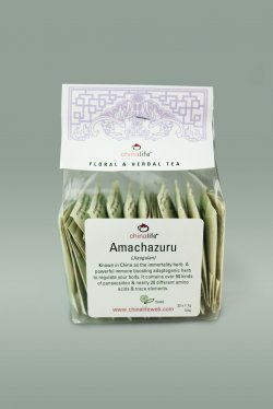 Amachazuru Five Leaf Tea Bags: Image