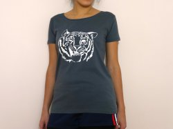 Tiger Spirit T-shirt (Women): Image
